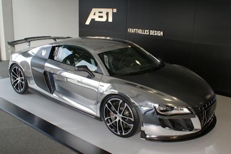ABT R8 GTR silber