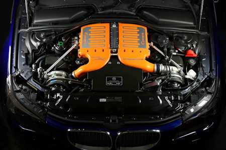 G-POWER - M5 HURRICANE GS - Engine