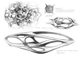 Interieur-Skulptur Mercedes-Benz Aesthetics No2