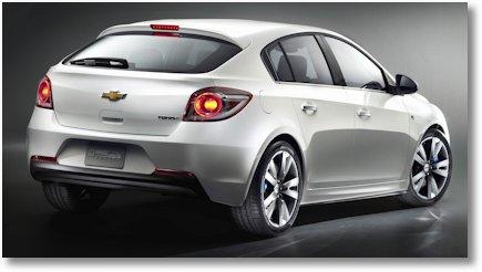Chevrolet Cruze Fliessheck 2