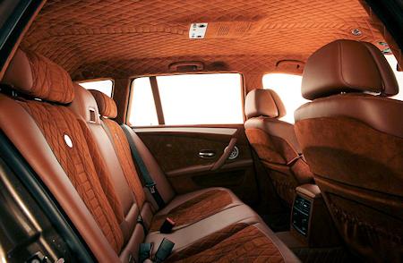 G-POWER M5 Hurricane RS Touring - interior 2