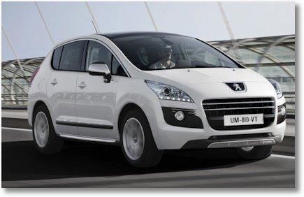 Peugeot 3008 HYbrid4 wer