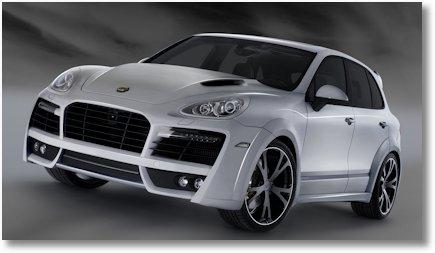 TECHART MAGNUM auf Basis Porsche Cayenne Turbo