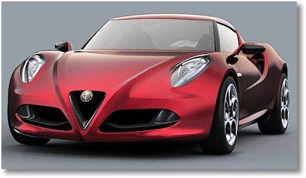 Alfa Romeo 4C Concept 1
