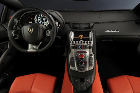 Lamborghini Aventador LP 700-4 Innenraumkl