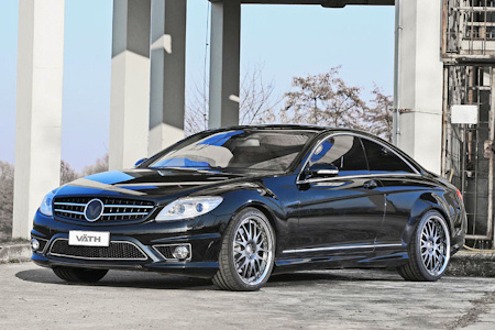 Mercedes CL500 Tuning