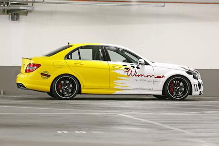 Mercedes C63 AMG Tuning