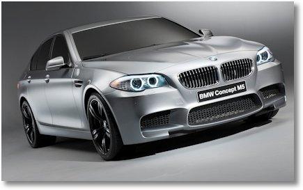 BMW M5 Concept Car 1