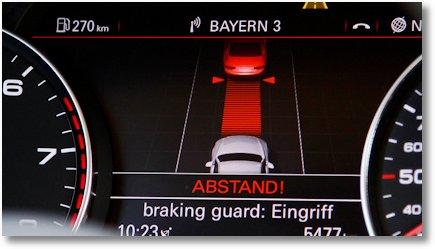 Abstandsmessung Warnsignale Audi 15