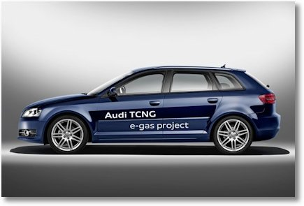 Audi TCNG e-gas project