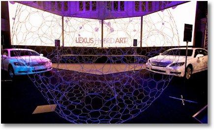 Lexus Hybrid Art Moskau