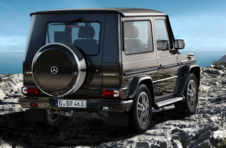 Mercedes-Benz G-Klasse G 350 BlueTEC Sondermodell BA3 Final Edition 2