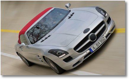 Mercedes-Benz SLS AMG Roadster 1