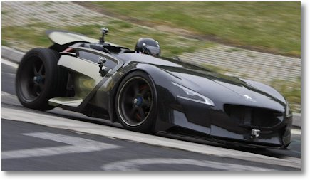 Peugeot E-Roadster EX1 2011
