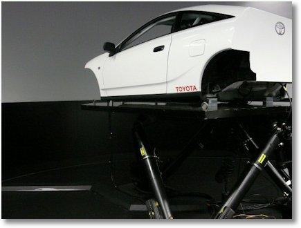 Toyota Fahrsimulator