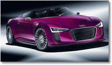 Audi e-tron Spyder a