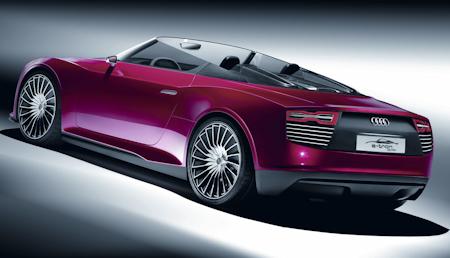 Audi e-tron Spyder b