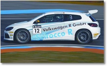 Scirocco R-Cup Rennwagen