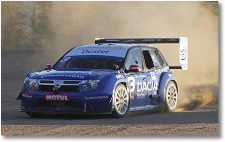 Dacia Duster Piles Peak
