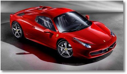 Ferrari 458 Spider 1