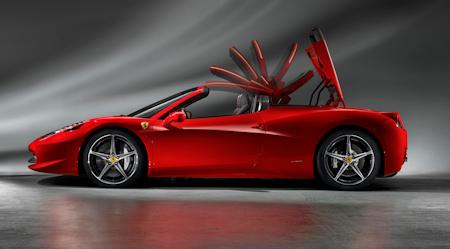 Ferrari 458 Spider 5
