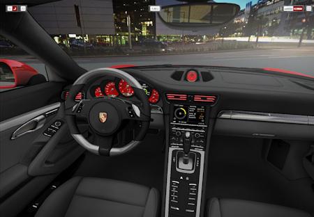 Screenshot Porsche Car Configurator 2