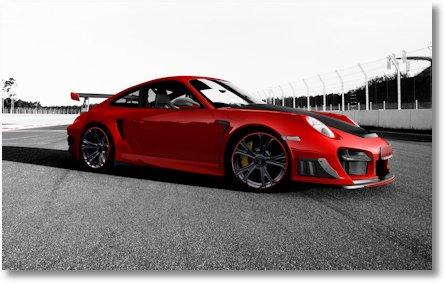 TECHART GTStreet RS auf Basis des Porsche 911 GT2 RS