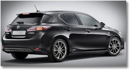 Lexus CT 200h F-Sport2