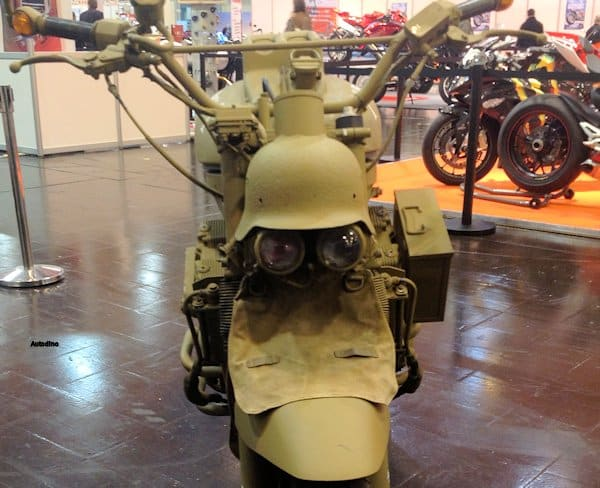 El Alamein Motorrad
