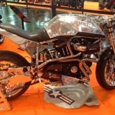 Custom Bike Buell Essen Motor Show