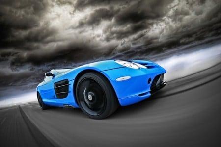 Mercedes SLR Tuning_Folierung_1