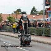 Harley Davidson Stunt Wheelie