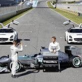 Mercedes F1 Silberpfeile 2013