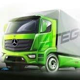 neue Mercedes-Benz Atego