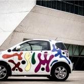 Toyota iQ Urban Art by Joana Vasconcelos