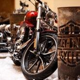 Harley Davidson Motorrad open