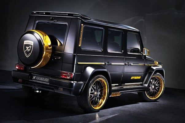 mercedes benz g 65 amg tuning leuchtlack und gold. Black Bedroom Furniture Sets. Home Design Ideas