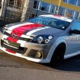 Opel Astra OPC Tuning Folierung