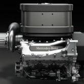 Formel 1 Mercedes-Benz V6 Motor