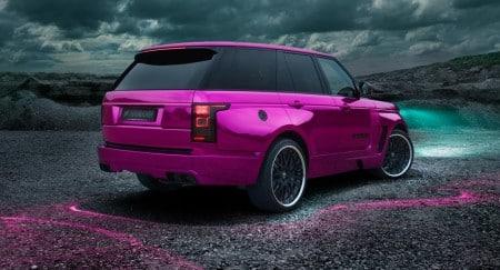 Hamann Pink Range Rover. Fotos: Hamann