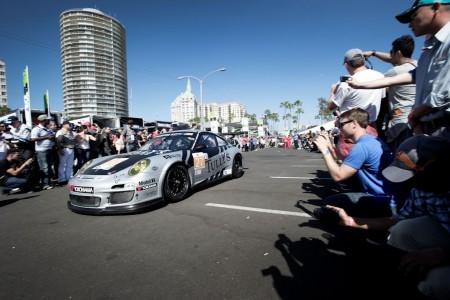 American Le Mans Series Dempsey Del Piero Racing Porsche 911 GT3 Cup Patrick Dempsey