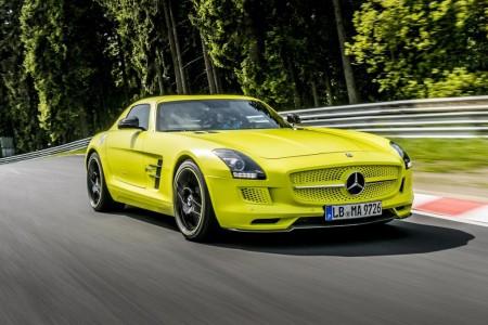 Mercedes SLS AMG Coupé Electric Drive_2