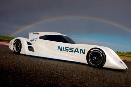 Elektro-Rennwagen Nissan ZEOD RC