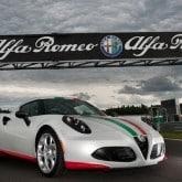 Alfa Romeo 4C Official Safety Car