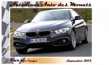 uto des Monats September 2013 BMW 4er Coupe
