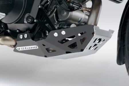Suzuki V-Strom 1000ABS mit Alu Motorschutz