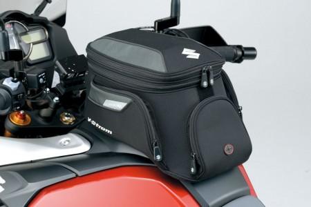 Suzuki V-Strom 1000 ABS mit Zubehör Tankrucksack