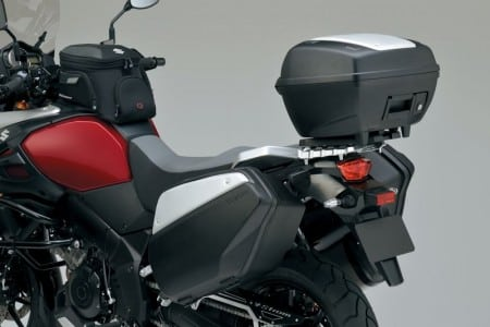 Suzuki V-Strom 1000 ABS mit Zubehör Topcase und Koffern