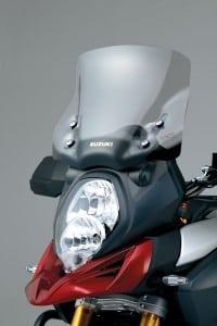 Suzuki V-Strom 1000 ABS mit Zubehör Windshield Tourenscheibe