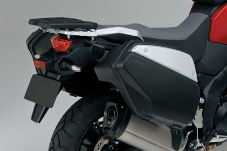 Suzuki V-Strom 1000 ABS mit Zubehör Koffern